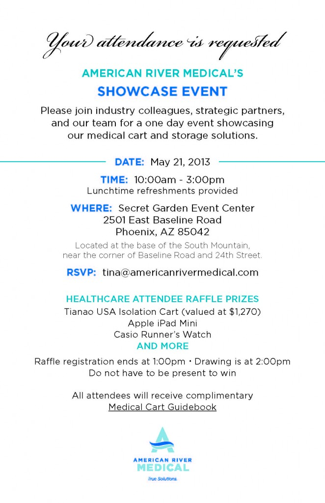 AmericanRiverMedical SHOWCASE EVENT