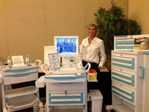 Tianao USA on display and demonstration by American River Medical co-owner Tami Neal.